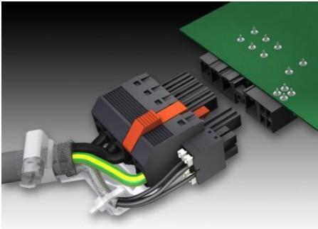 型的印刷电路板接插件