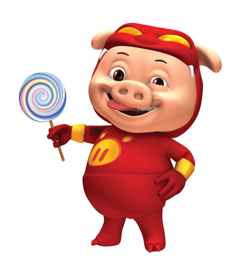 猪猪侠分享展示