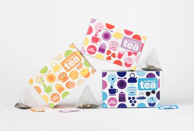 国外儿童茶品设计_中华印刷包装网