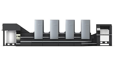 1,海德堡cd102-4对开四色印刷机
