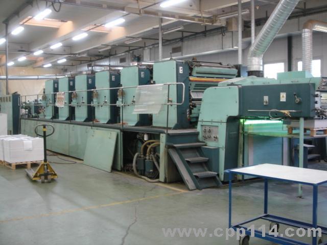 高宝印刷机主电机维修