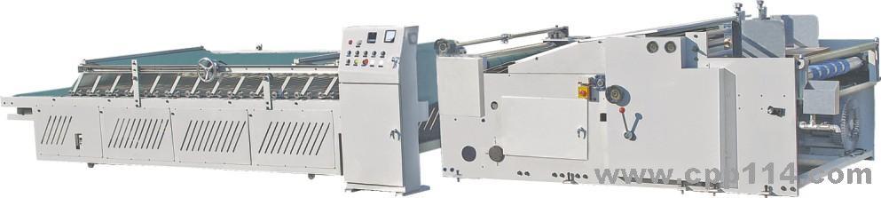 纸组成的纸堆,然后在真空风机的吸附作用下依次自动送入涂胶辊涂胶.