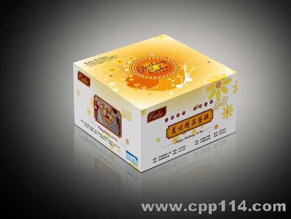 【供应】蛋糕盒包装设计