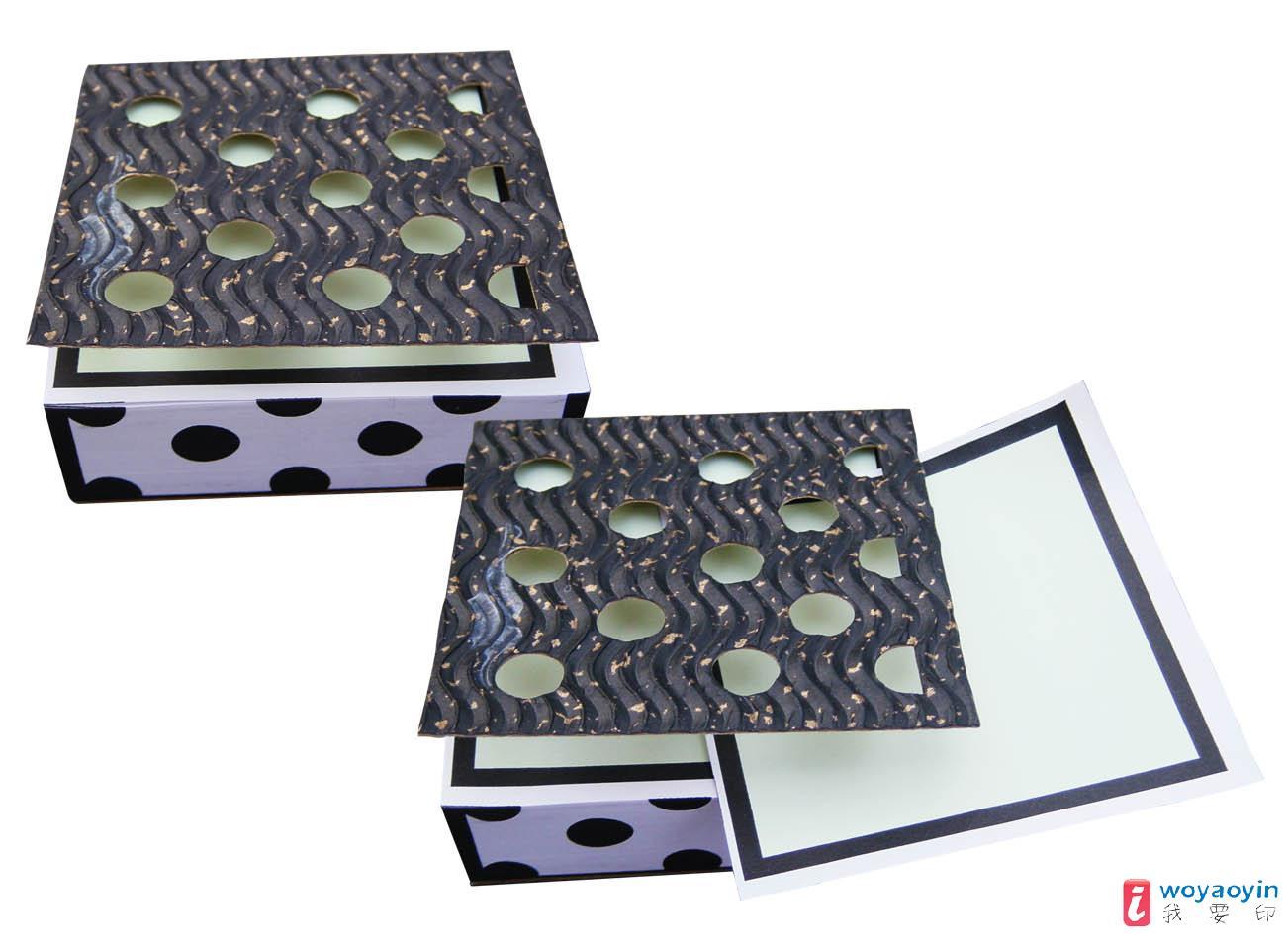【供应】品名:创意手绘系列纸砖--黑色圆点