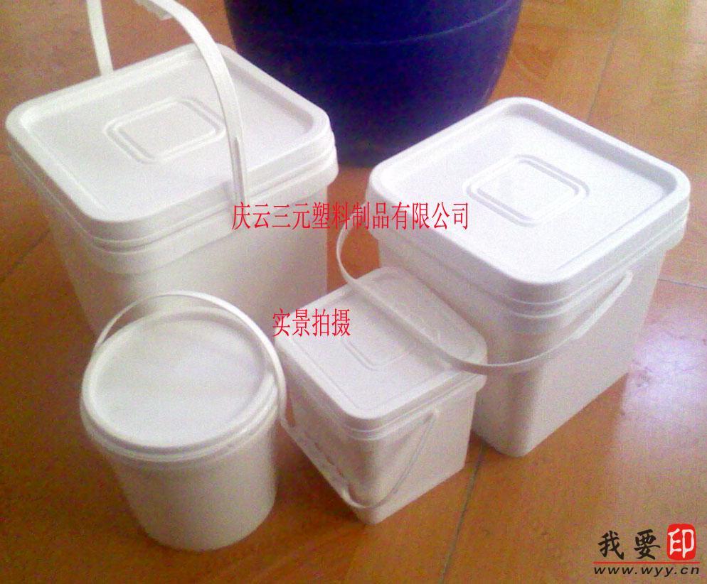 【供应】10l大口方形塑料桶
