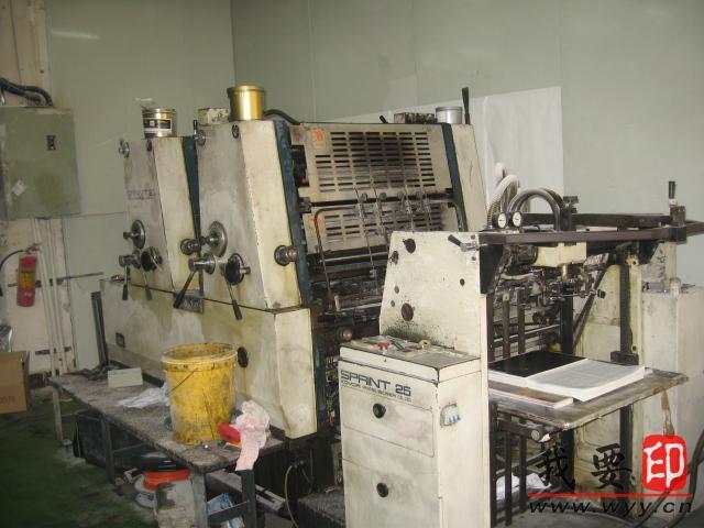 小森印刷机主电机维修
