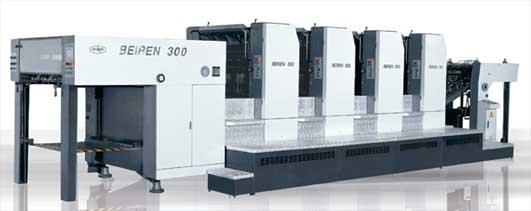 上海光华ep106高速印刷机