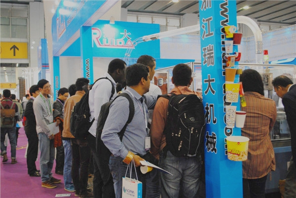 22届华南国际印刷展图集之现场人流篇